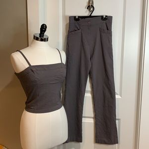 Sole Mio stretchy top and matching pants.